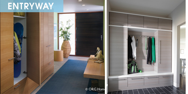 Organized entryways